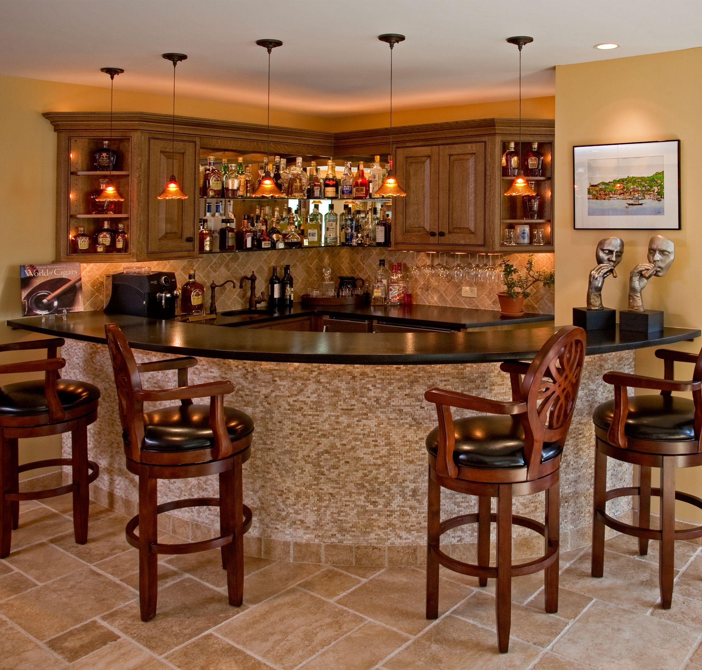 Bar for the basement home pinterest basements bar