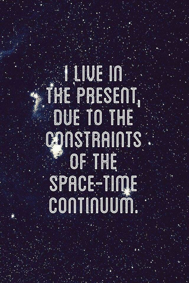 constraints of the space time continuum words quantum physics