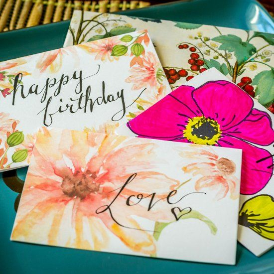 Download free flower card printables These pretty flower cards - birthday greetings download free