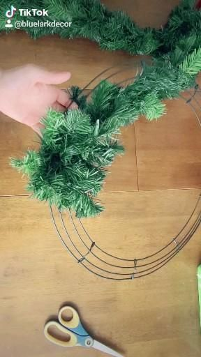 Handmade Traditional Holiday Wreath