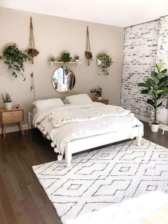 Photo of 48 Elegant Modern Farmhouse Style Bedroom Decor Ideas