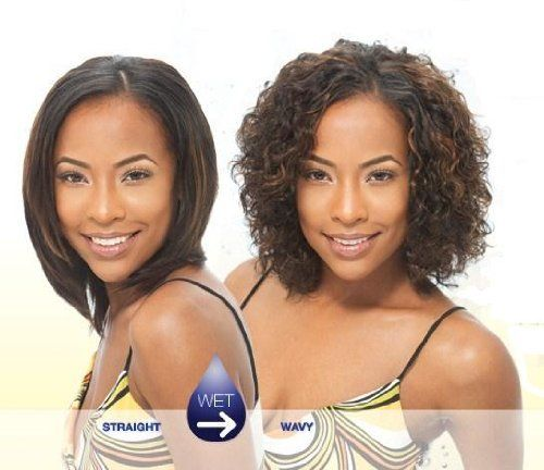 Indian Tempo Curl 8 Milkyway 100 Human Hair Wet Wavy Weave Extensions 1b By Milky Way 28 85