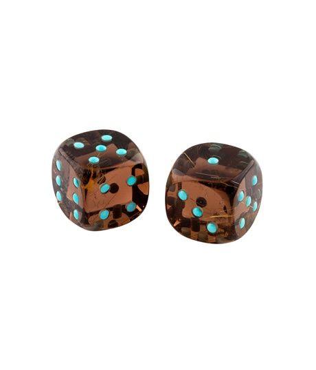 Quartz And Turquoise Dice Belmacz Jewels Objects Ornaments