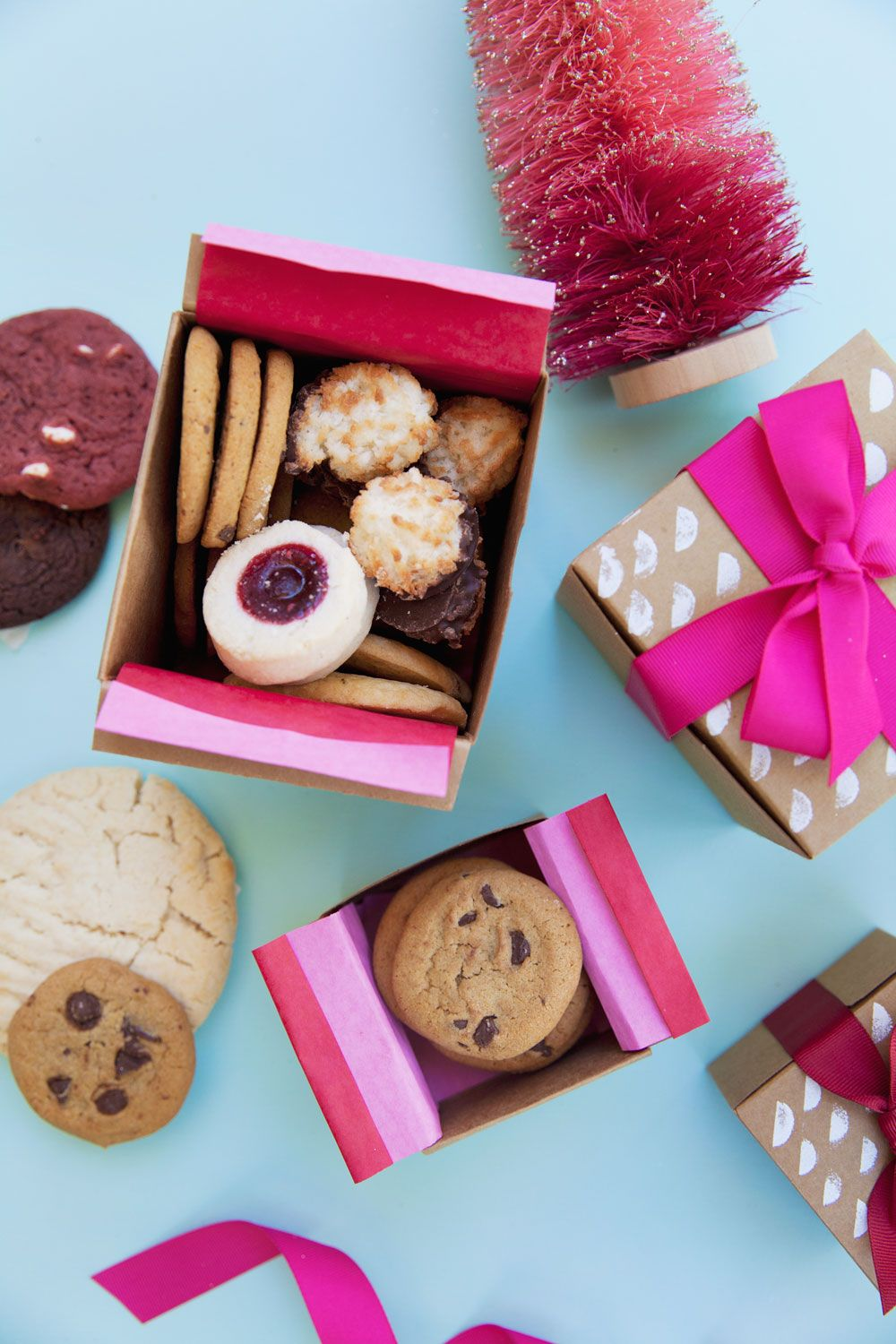 DIY COOKIE GIFT BOXES Cookie gift boxes, Cookie gifts, Gifts