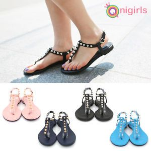 4372273bb0d Find this Pin and more on Qnigirls. NEW Qnigirls Womens Blang Mirror Gold  Nailed Flip Flops Korean Wave Hallyu