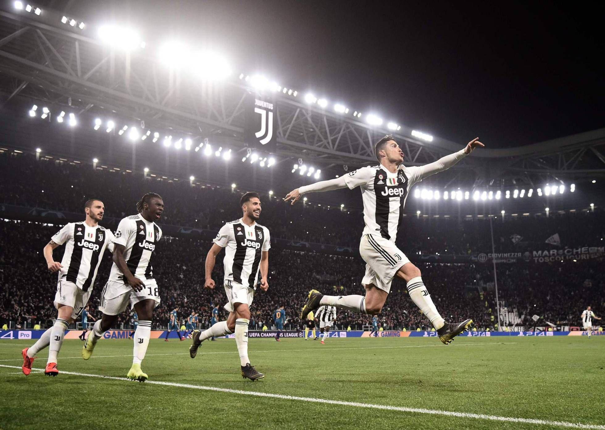 Psbattle Cristiano Ronaldo Celebrating Scoring His Penalty For Juventus In The Uefa Champions League Ronaldo Cristiano Ronaldo Ronaldo Hat Trick