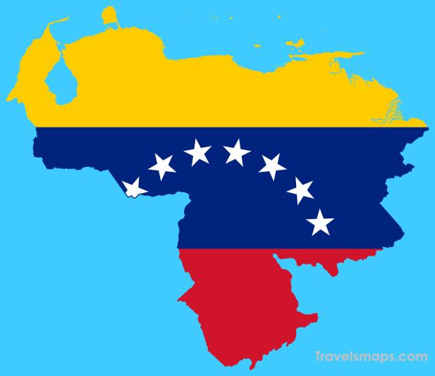 Cool Map Of Venezuela Map Glass Map Venezuela