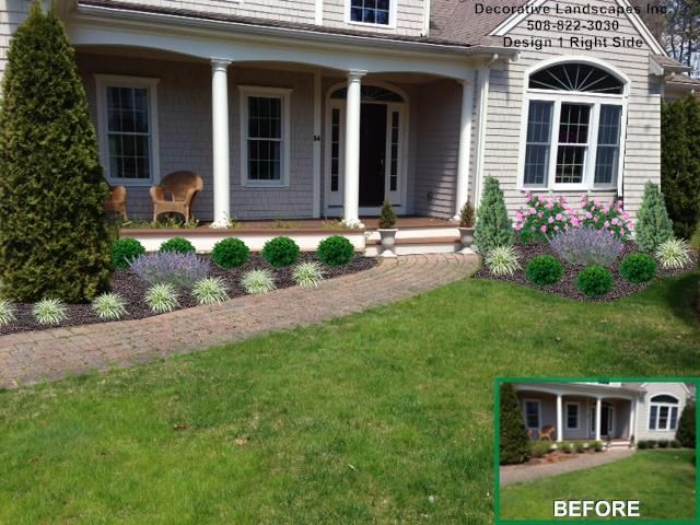 contemporary curb appeal enhancement