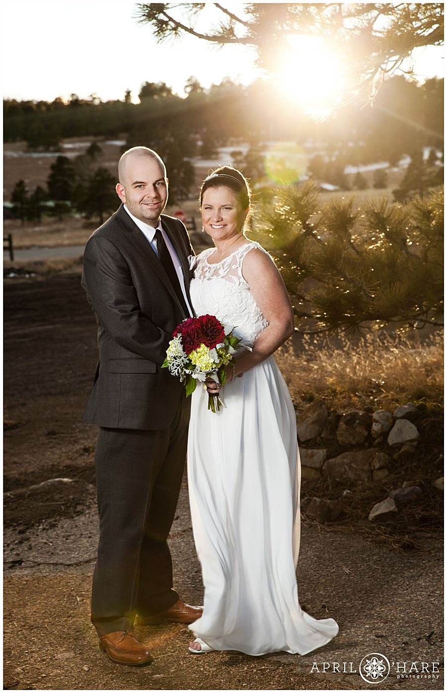 Colorado Wedding Photographer Colorado winter wedding