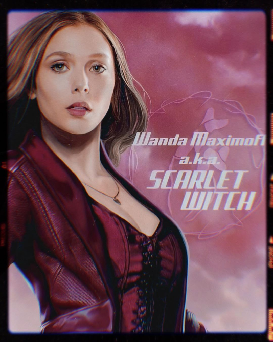 Wanda Maximoff Scarlet Witch A6 print