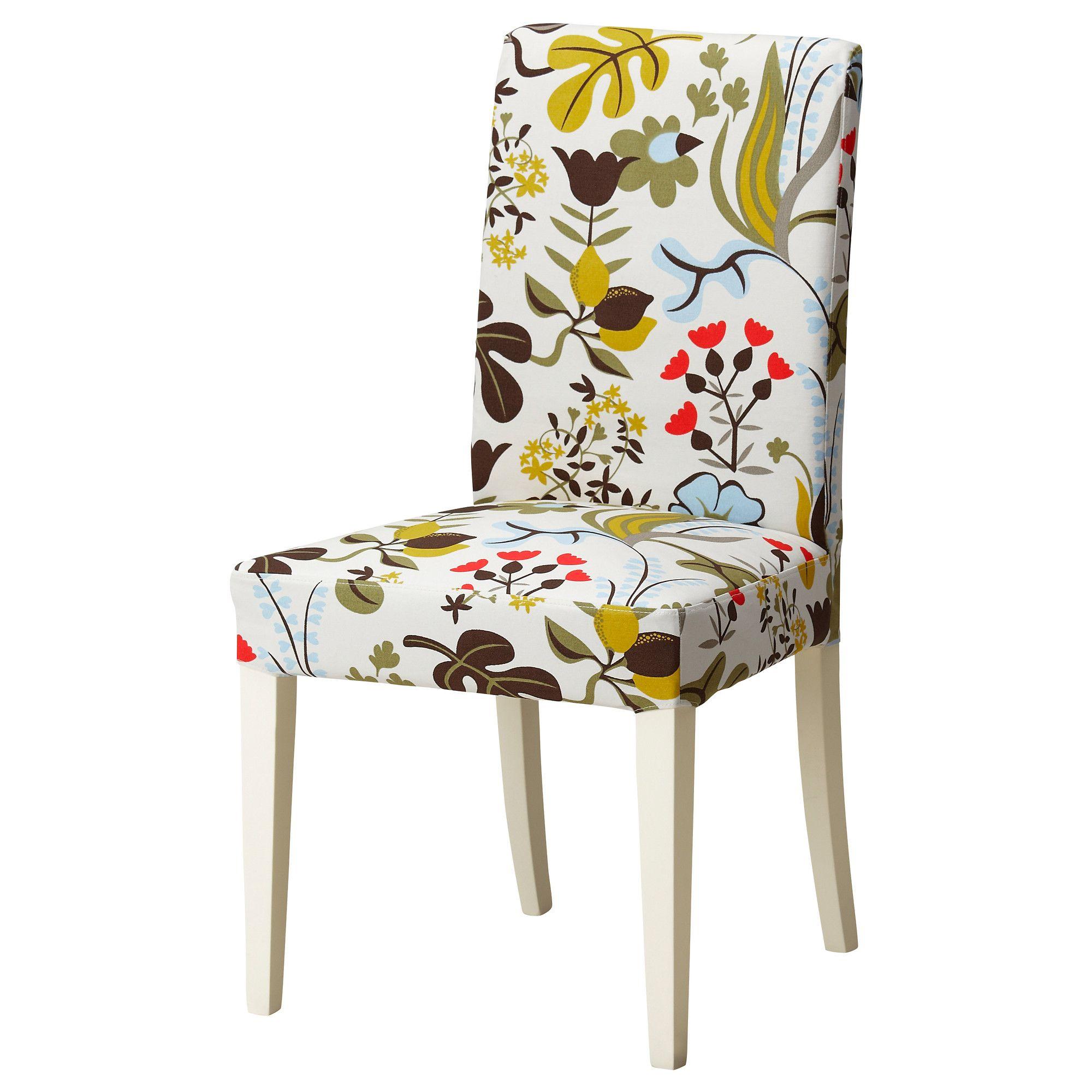 henriksdal chaise blomsterm la multicolore ikea living room pinterest d co. Black Bedroom Furniture Sets. Home Design Ideas