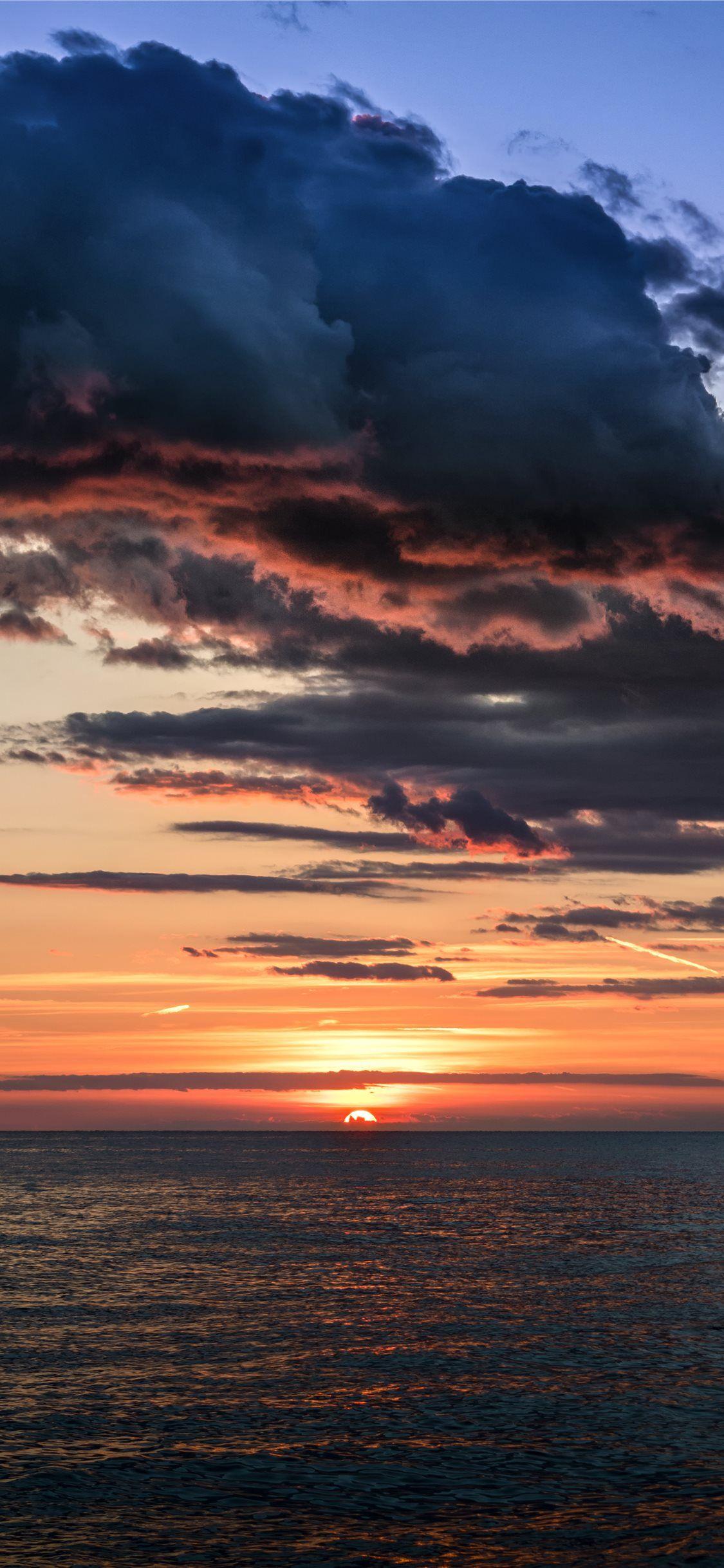 Tropical Sunset Croatia Reflection Cloud Sunsetsky Croatia Wallpaper Background Iphonex Iphonexs Sunset Iphone Wallpaper Sunset Wallpaper Background