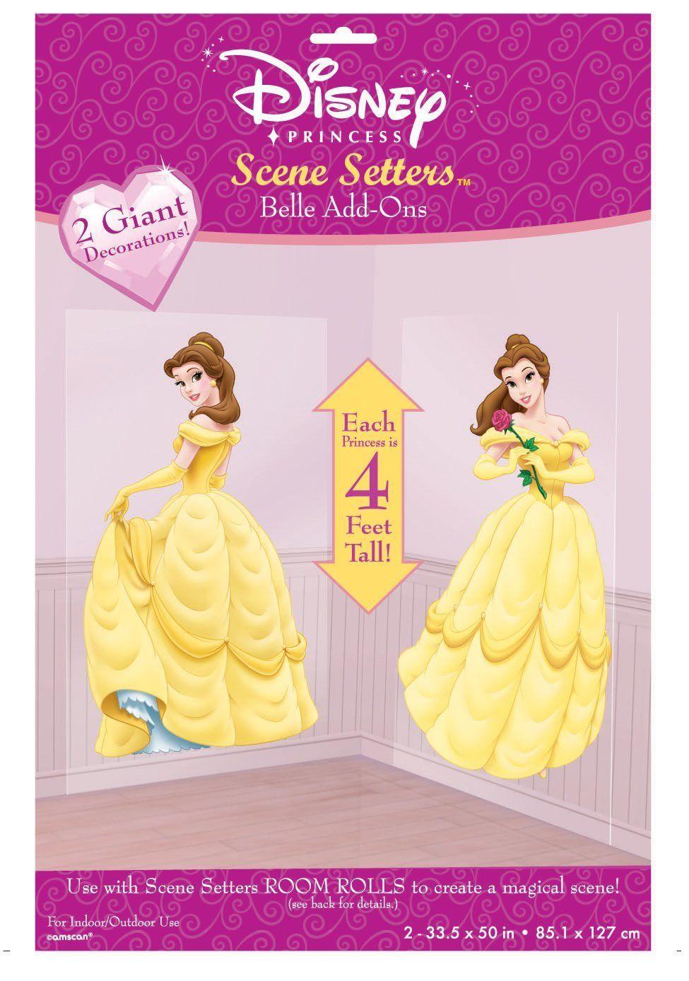 Disney Princess Scene Setters, Beauty The Beast Belle Add-Ons ...