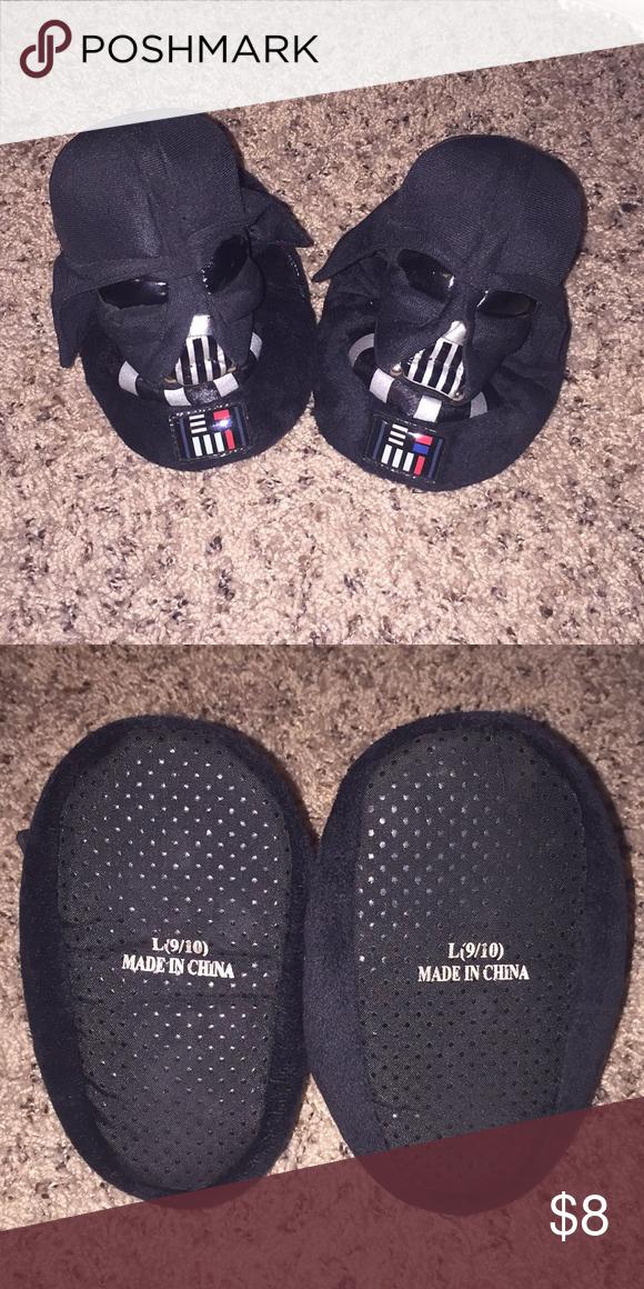 cheap new design shopping 😎 Boys Star Wars Darth Vader Slippers 😎 Gently loved boys Darth ...