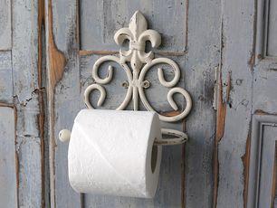 Toilettenpapierhalter Mit Französischer Lilie (Antique Weiß, Chic Antique)  | L(i)ebenswert   Shop | Pinterest | Shopping