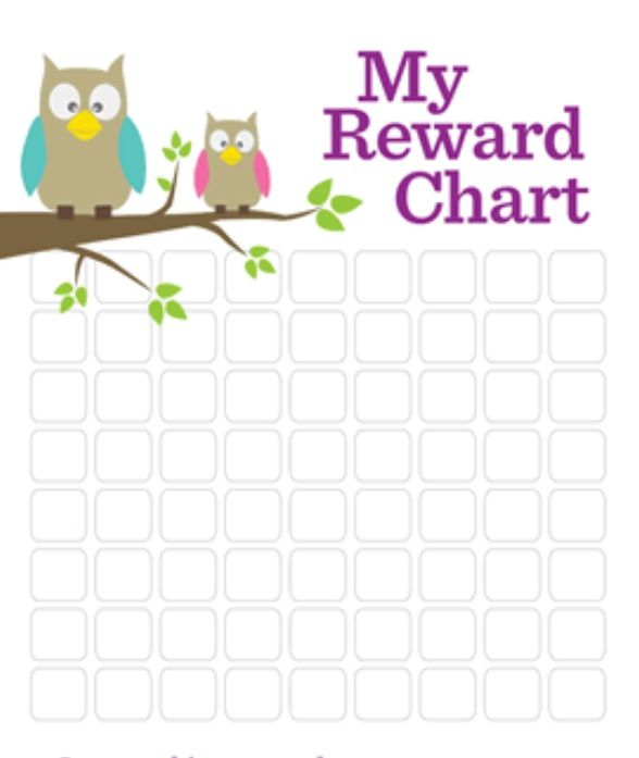 Pin by Emily on Parenting Pinterest Parents - blank reward chart
