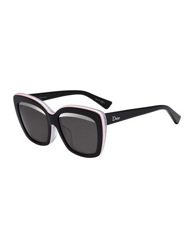 49f86df2bc4 D0XKU Dior Graphic Square Sunglasses