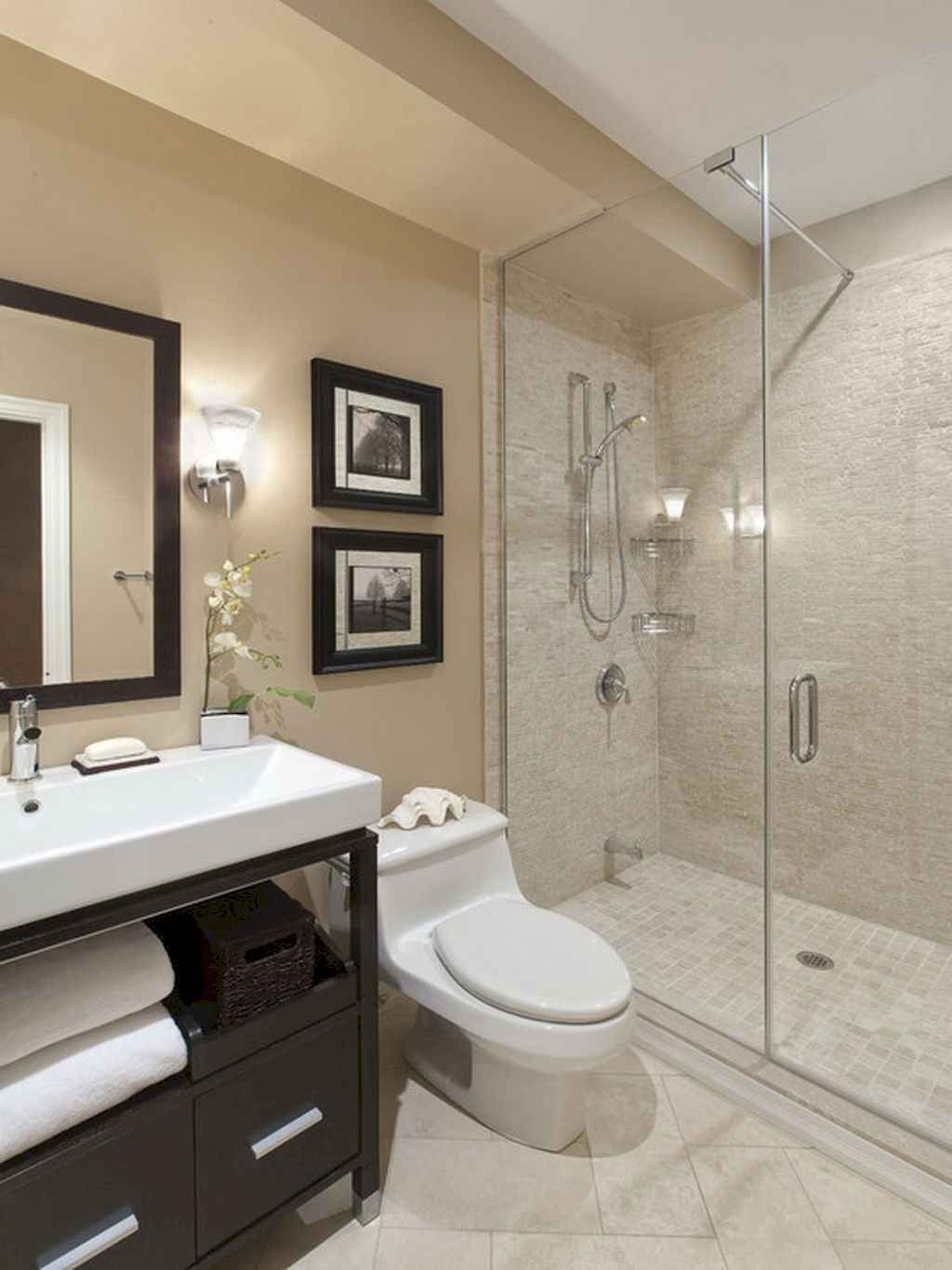 80 stunning tile shower designs ideas for bathroom remodel on stunning small bathroom design ideas id=42782