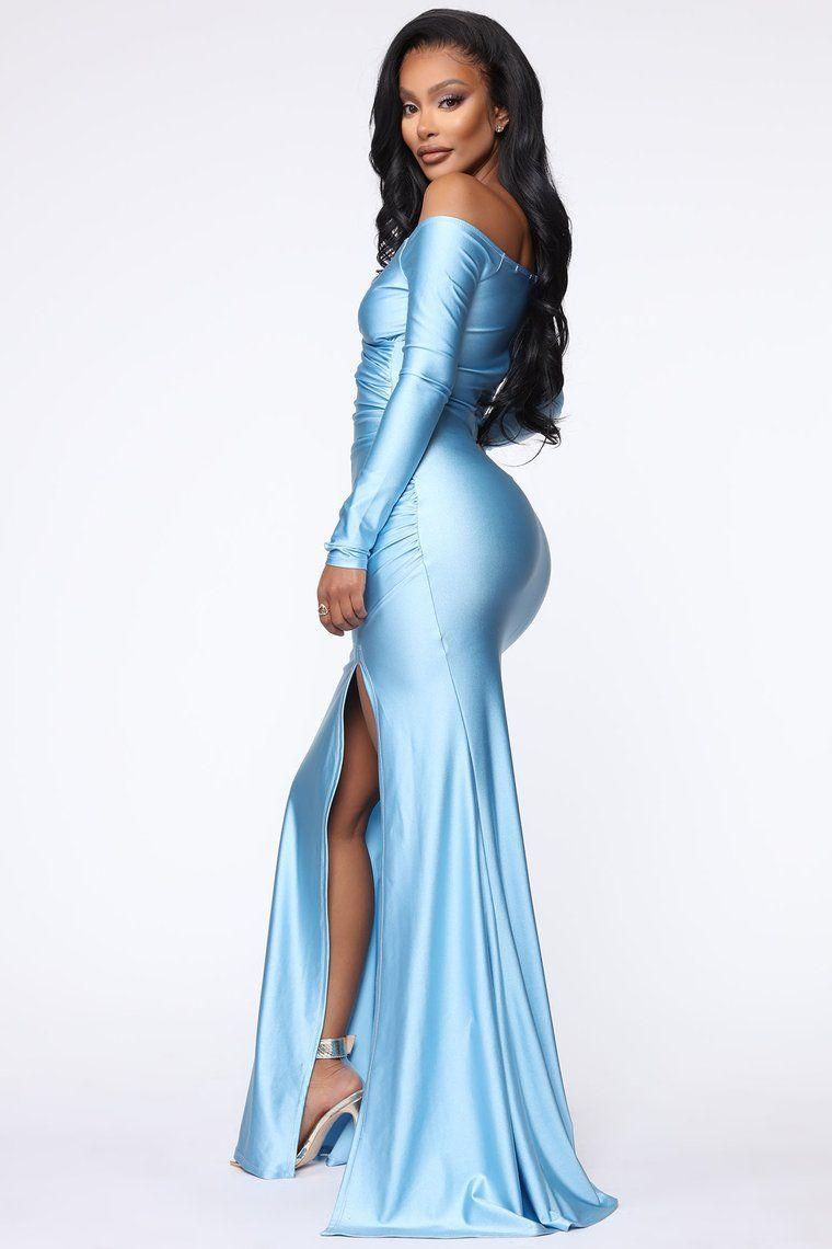 I'm Entering A Room Maxi Dress Blue in 2020 Dresses