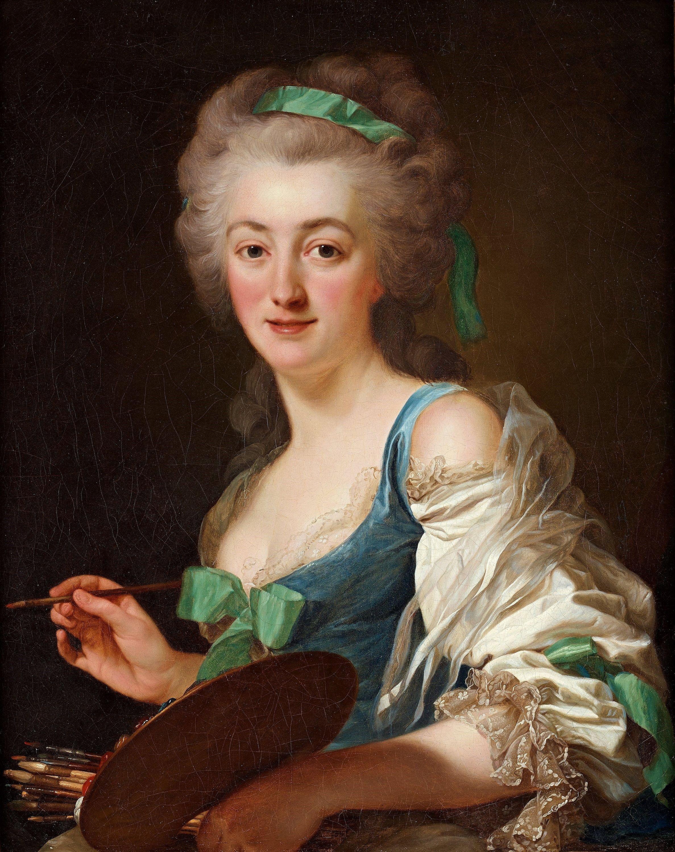Alexander Roslin The Artist Anne Vallayer Coster 1783 Artist Female Artists Art
