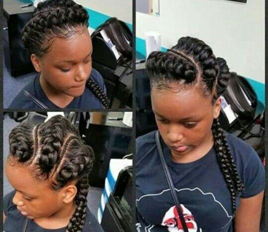 Ghana Goddess Braids Natural Hair Styles Cornrow Hairstyles Goddess Braids