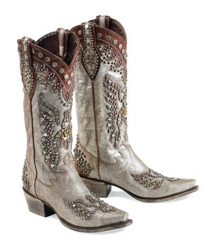 Sparkly Cowgirl Boots - Cr Boot