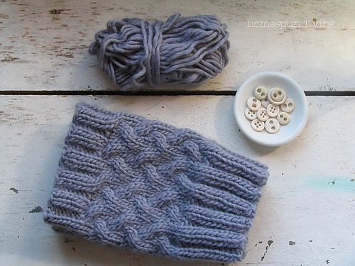 Ravelry: Stockinette Cable Boot Cuff pattern by Debbie Andriulli ...