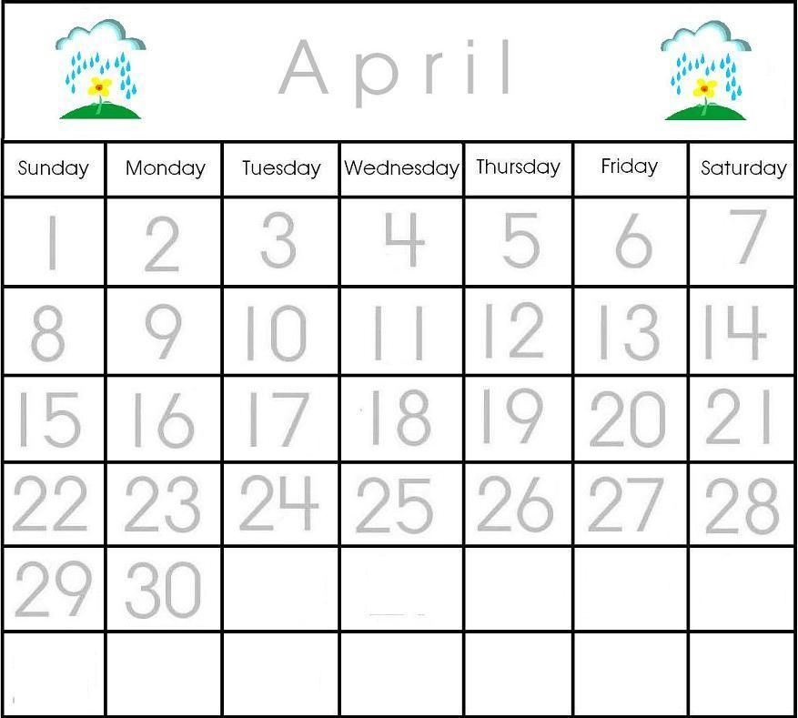 Preschool Printables Calendar Pieces Calendar Pinterest - preschool calendar template