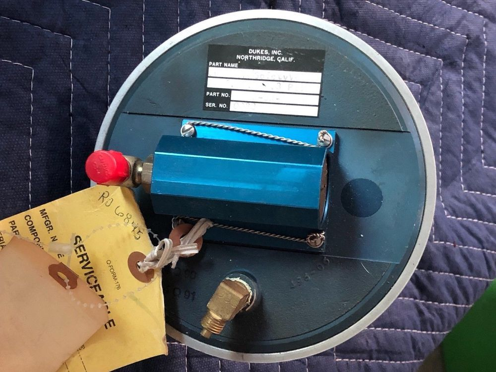 PIPER AEROSTAR 601-P SAFETY OUTFLOW VALVE YELLOW TAGGED PN