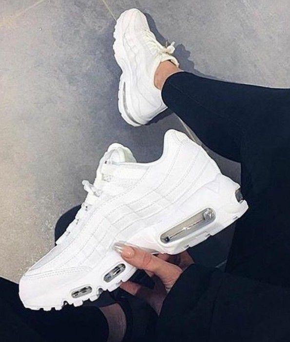 Nike Airmax   White nike shoes womens