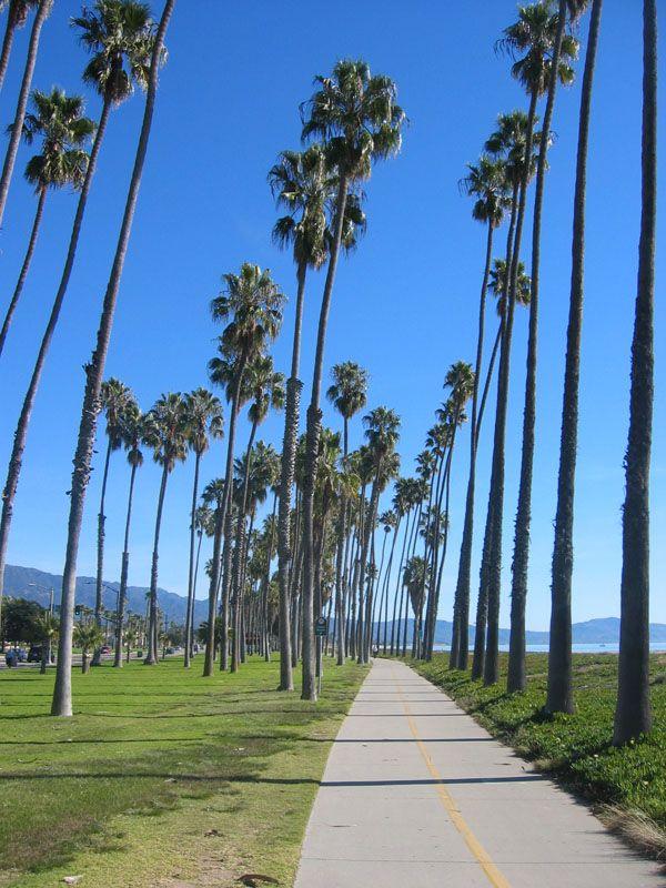 A Beautiful Day In Santa Barbara S East Beach California How I Miss Walking Along