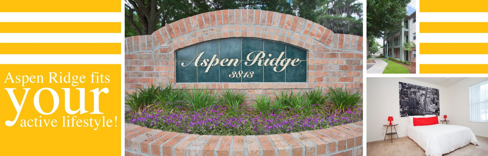Our spacious 1 bedroom and 3 bedroom apartments make Aspen