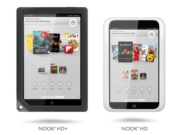 مواصفات وسعر تابليت Nook Hd Android Tablet الثلجي والدخاني رائع
