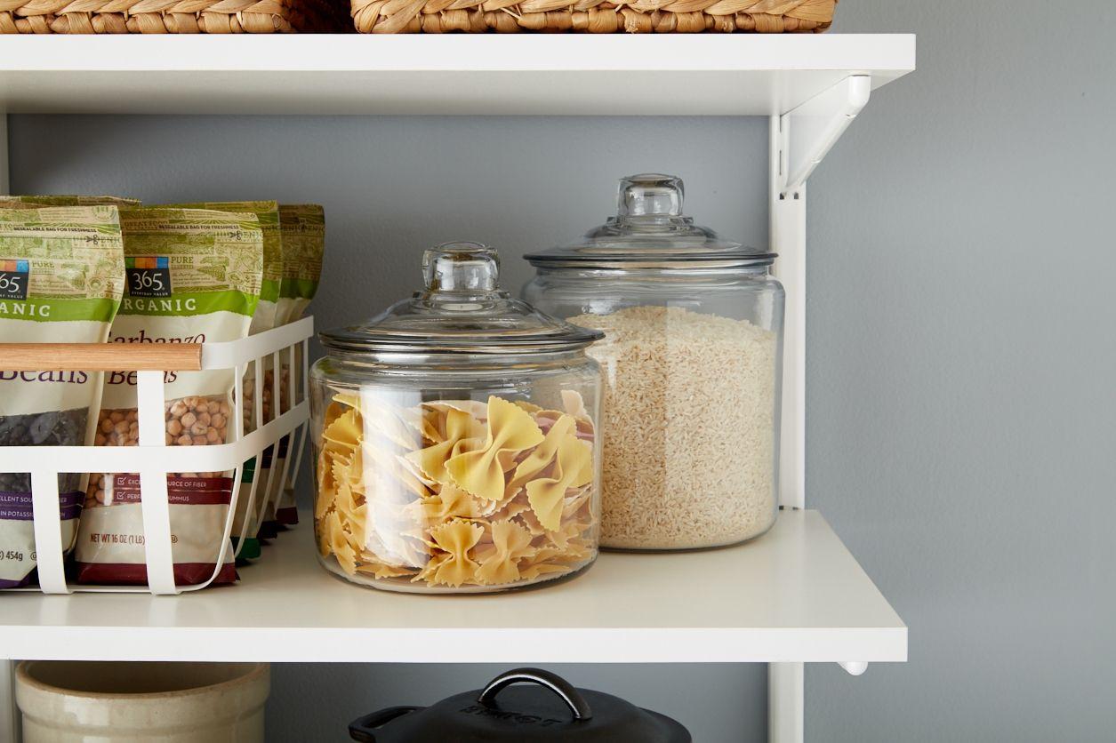 Mason Jar Pantry Storage
