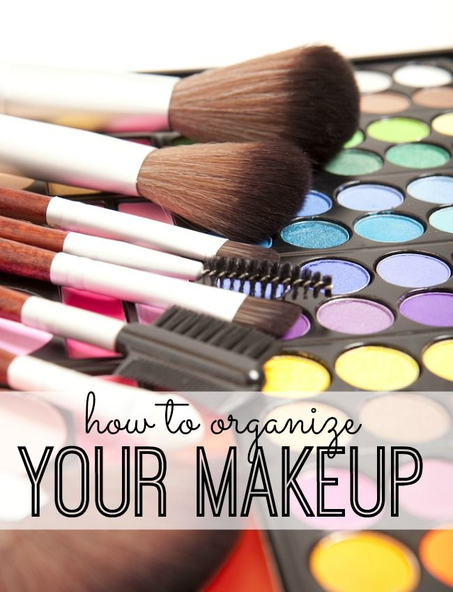 No More Makeup Messes! Tips, Tricks And Ideas For Organizing Your Makeup.  How