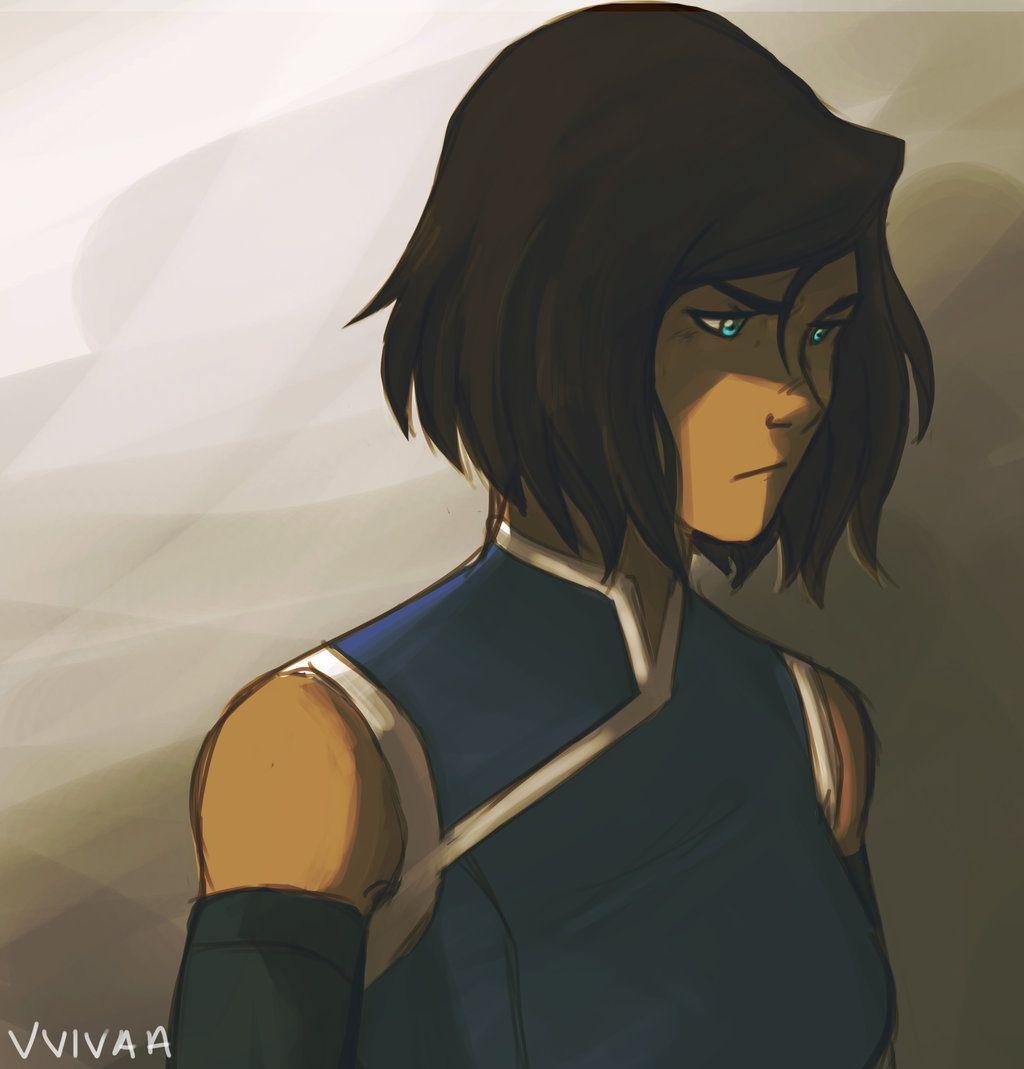 Avatar Aang With Hair: Book 4: Korra By Vvivaa.deviantart.com On @deviantART