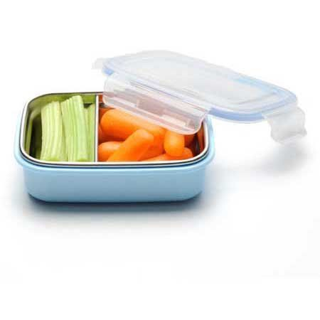 Amazon.com: Steeltainer Leak-proof Stainless Steel Compact Size Container (Blue): Home & Kitchen