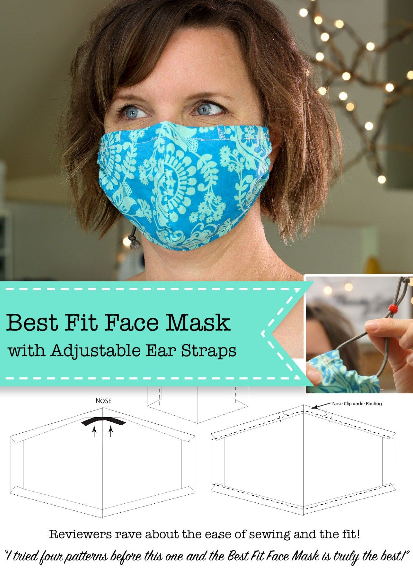 Photo of Tutorial: Best Fit Face Mask