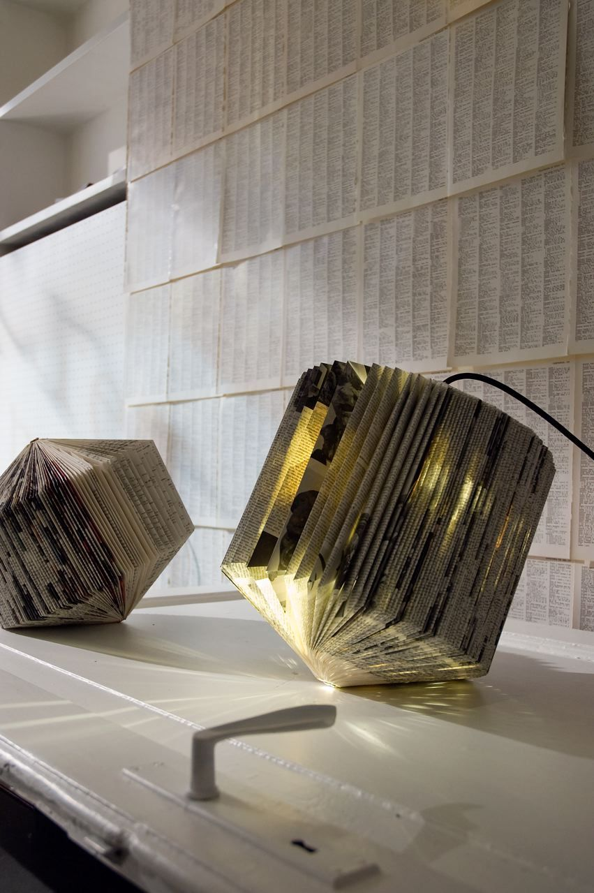 Paper Pendant Lampshade By Mn Ls Bastelideen Idee Lampen