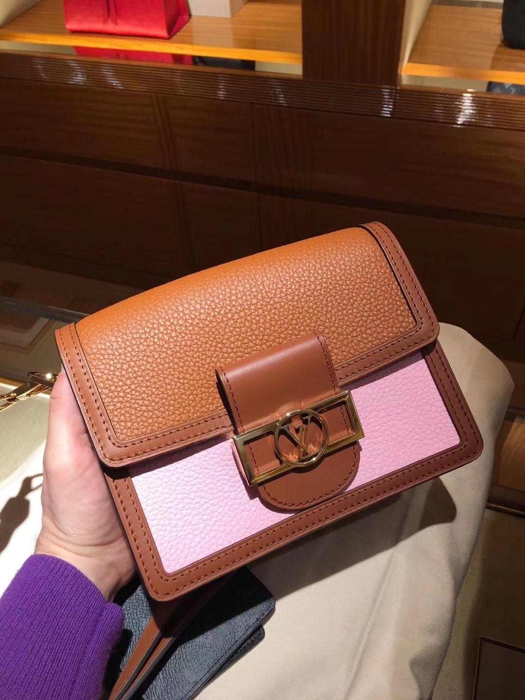 720ab6c33bd Louis Vuitton Mini Dauphine Bag M53805 #louisvuittondauphine #lvdauphine  #lvpurses #louisvuittonpurses #m53805