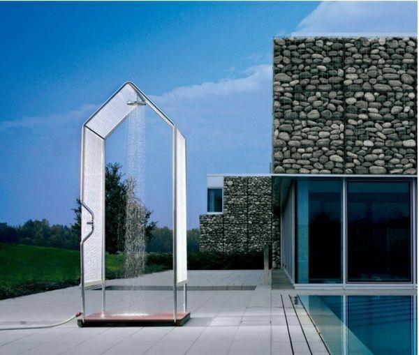 Moderne Garten Dusche Design Ideen Pool khepri atlanc