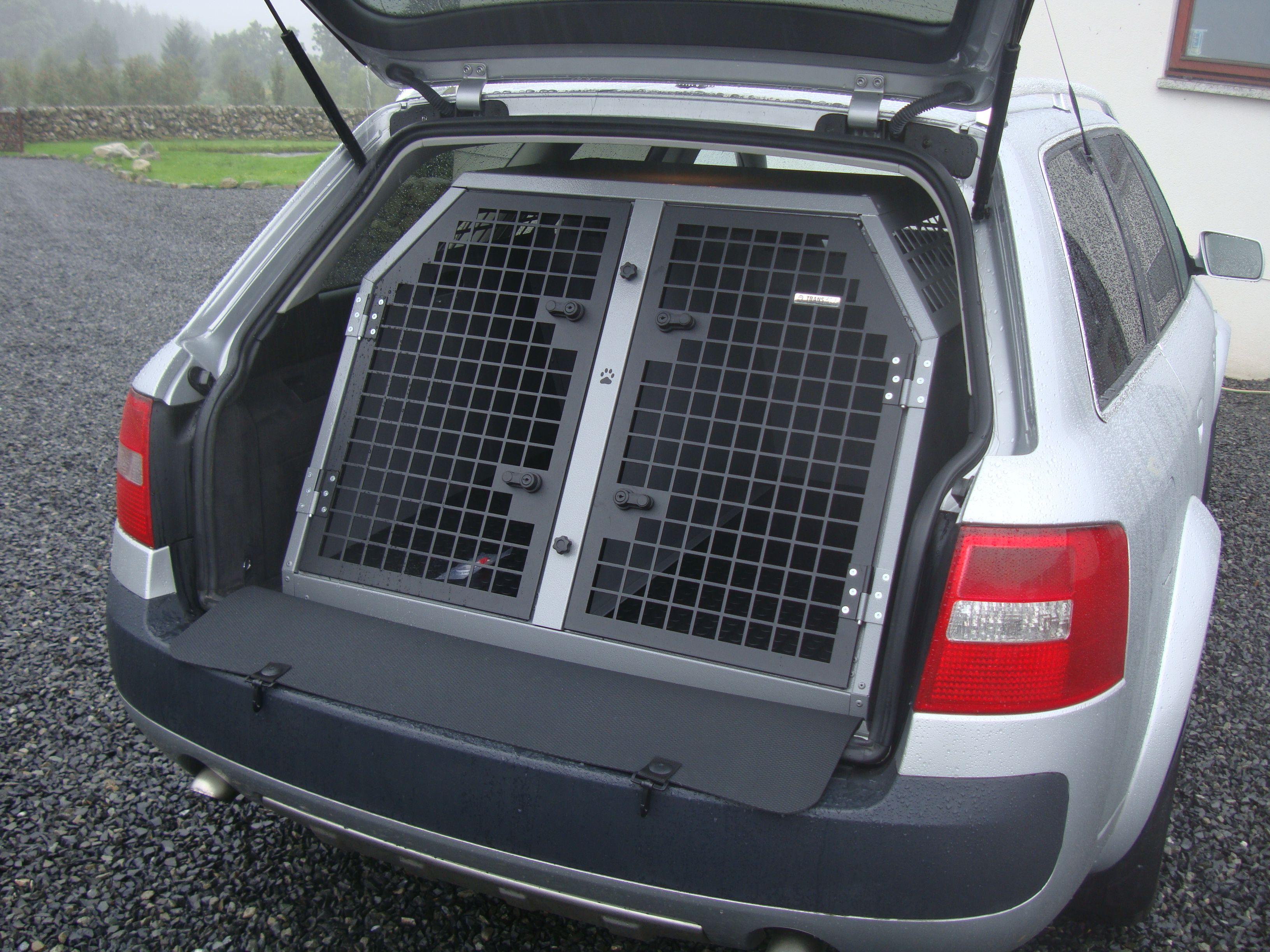 Transk9 B3 Audi A6 Avant Dog Cage Dog Crate Dog Transit