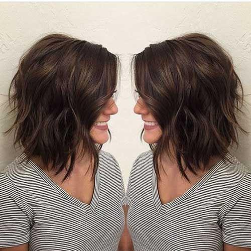 Frisuren fur dicke braune haare