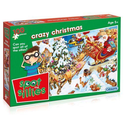 Spot The Sillies - Crazy Christmas jigsaw puzzle achat Pinterest