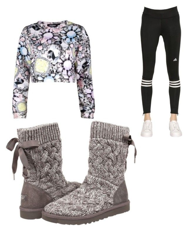 """""""Untitled #28"""" by madison-lxii ❤ liked on Polyvore featuring interior, interiors, interior design, home, home decor, interior decorating, Jaded London, adidas and UGG Australia"""