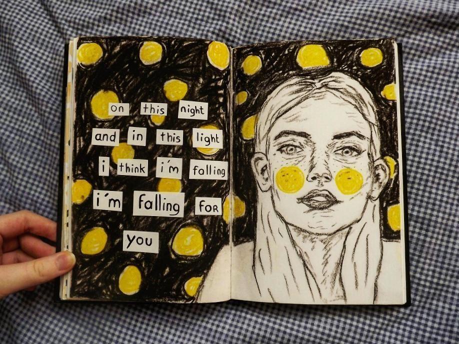 Art Journal Design Pinterest