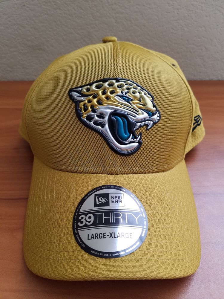 f971cfb0753ad Men s New Era NFL Jacksonville Jaguars 39Thirty Dad Hat Cap Gold Size L-XL   fashion  clothing  shoes  accessories  mensaccessories  ties (ebay link)