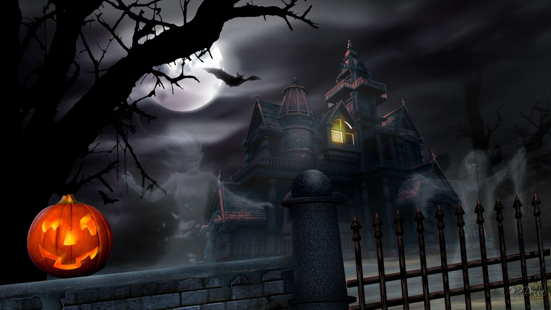Free Halloween Wallpaper Desktop Wallpaper Hd 2005 Halloween