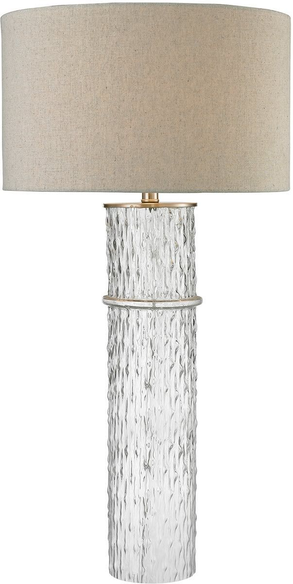 33 H 1 Light 3 Way Crystal Table Lamp Clear Led Table Lamp Lamp Crystal Table Lamps