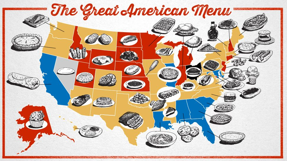 Albert Burneko And Ilrator Jim Cooke Have Put Together The Great American Menu A List